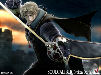What is the name of Raphael's joke weapon in Soul Calibur 4?