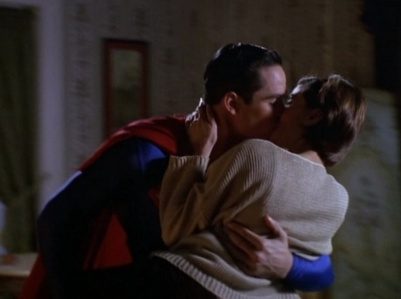 How many times have Lois and Clark/Superman kissed over the entire series?