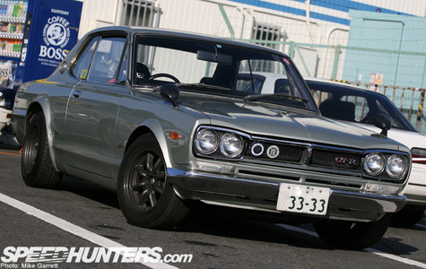 The 1969 KPGC-10 Skyline GT-R, the first GT-R, is known by a particular nickname. What is it?