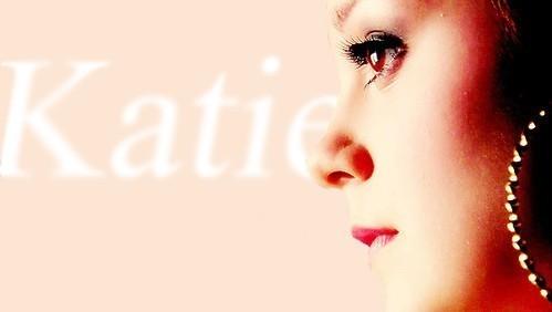 True or False: We've seen Katie flip someone off?