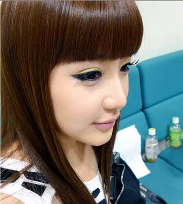 The other 2NE1 members think that Park Bom eats like a...