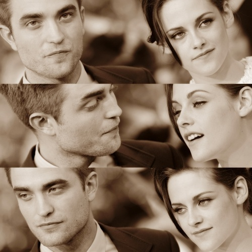 """We understand each other without the words."" who said it? Robert or Kristen?"