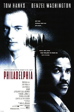 "In the movie ""Philadelphia"", he lives with ?"