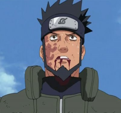Who kills Asuma Sarutobi?