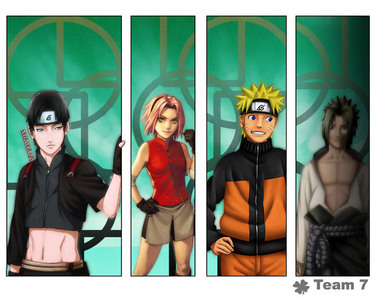 Who replaces Sasuke of Team 7?
