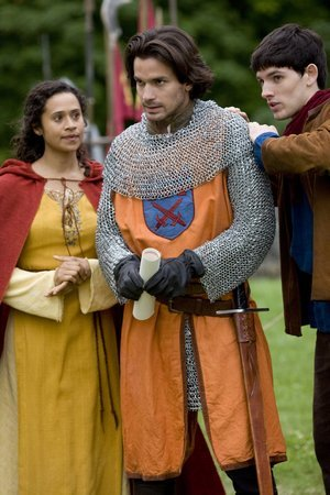 Lancelot is portrayed by _______?