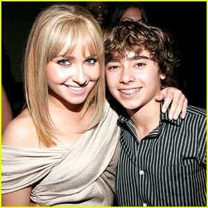 what is the name of Hayden's younger brother?