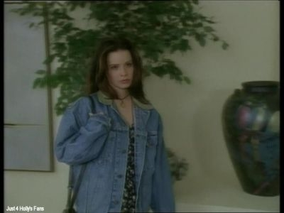 Holly's character Amanda Hale starred in which movie?