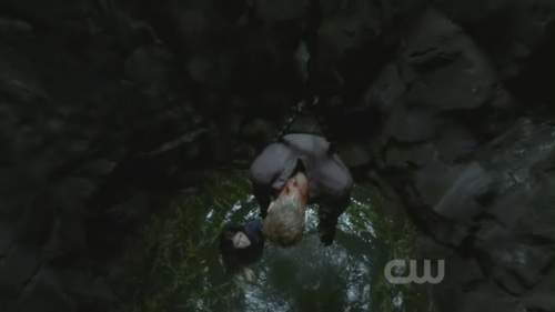who saved Stefan in episode 6(of season 2)?
