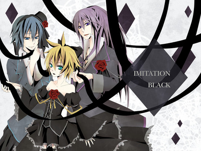 Why Len is using a dress in Imitation Black?