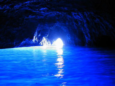 Where is the Blue Grotto Cave ?