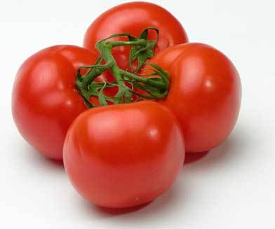 Tomatoes are best known for being red....what other colour are they ?