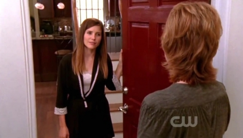 What were the first words Brooke alisema to Sylvia?
