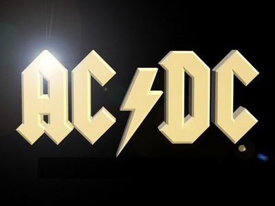 What was AC/DC's first studio album called?