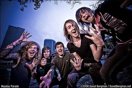 What was Mayday Parade's first studio album called?