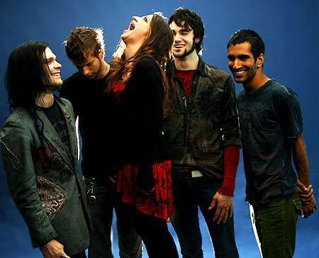What was Flyleaf's first studio album called?