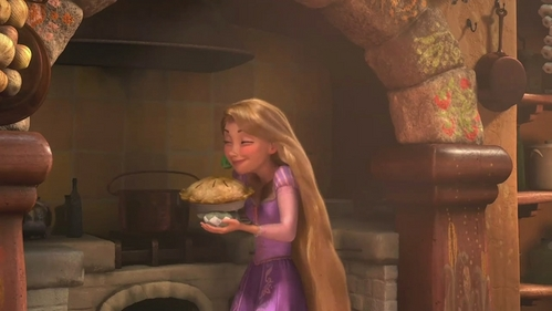 what is Rapunzel's favorite food?