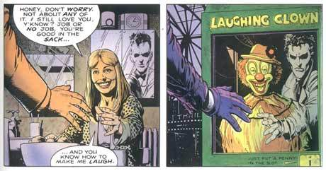 What was the name of The Joker's wife?