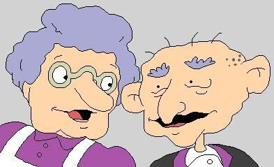 Rugrats: Tommy's grandparents are...?
