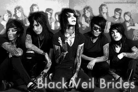 When was the debute album of Black Veil Brides released?