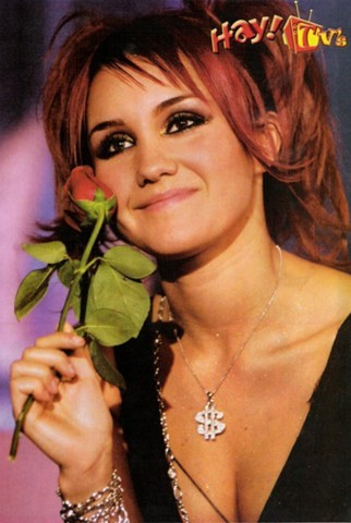 What is the name of caracter Dulce Maria play in Rebelde?