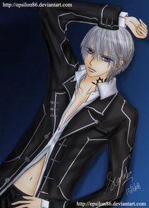 Which other Vampire Knight character have the same voice of Zero Kiryuu?