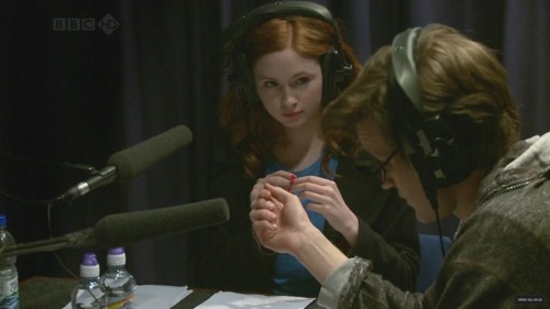 Karen thought that matt was like a 'mad scientist' during their second reading?