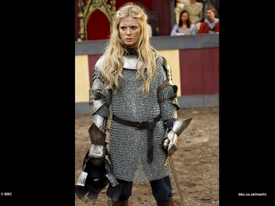 Who attacks Morgause in the last episode of series 3