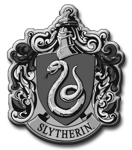 What are the 颜色 of Slytherin house?