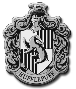What are the रंग of Hufflepuff house?