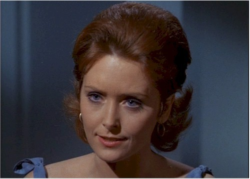 She played a role in TOS episode ''turnabout intruder''.What is her name?