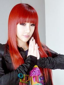 Where does Park Bom see herself in 10 years?