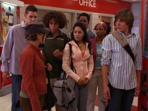 T/F: Gabriella never talks to Kelsi in High School Musical.