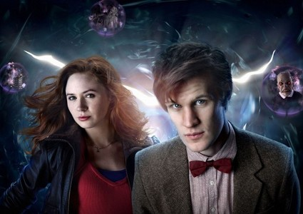 Who plays the Doctor & Amy Pond?