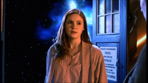 How many years did Amy first wait for her raggedy Doctor to come back?