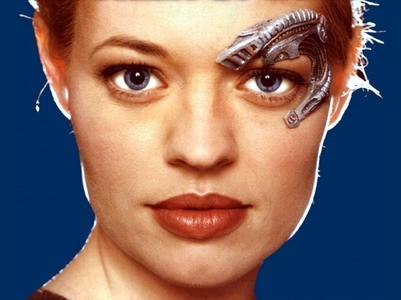 """How many episodes of """"Star Trek Voyager"""" did Seven of Nine appear in?"""