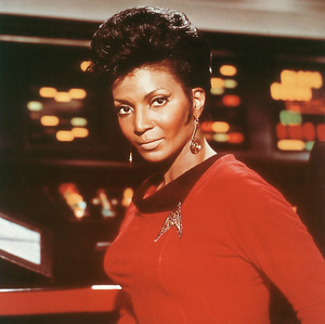 "How many episodes of ""Star Trek"" did Uhura appear in?"