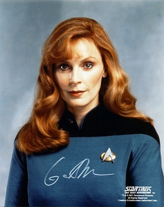 "How many episodes of ""The 次 Generation"" did Dr Beverly Crusher appear in?"
