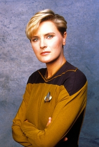"How many episodes of ""The siguiente Generation"" did Tasha Yar appear in?"