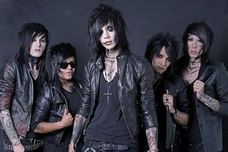 What is the name of Black Veil Brides debute album?