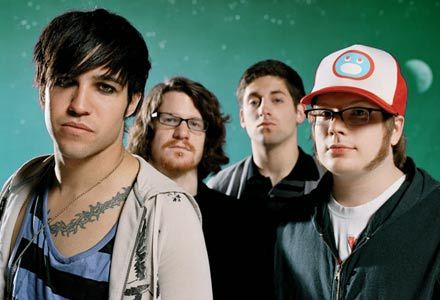 What was Fall Out Boy's first studio album called?