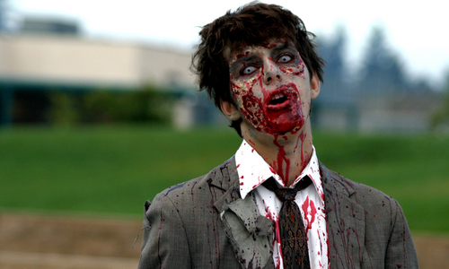 What should wewe do if wewe see a zombie?