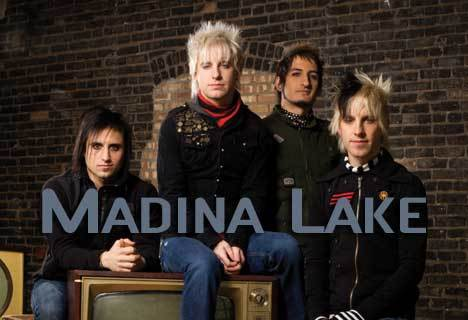 What was Madina Lake's first studio album called?