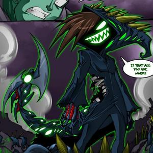 How is the Nergal demon with reaper powers final defeated?