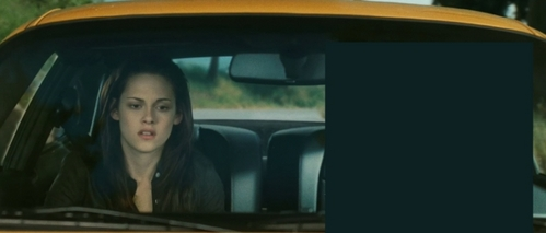 Who is in the car with Bella ?