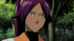 Which character who is female failed to complete Yoruichi Shihōin's Shunkō technique?