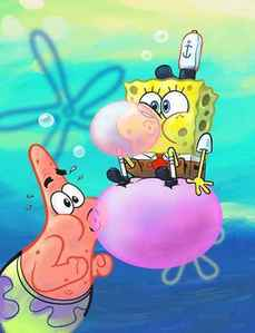 What color are Patricks eyelids?