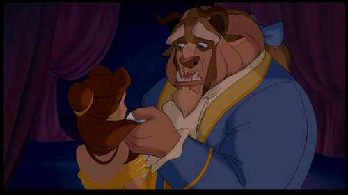 True oder False, The Beast says at one point: Belle I want Du to leave the castle.