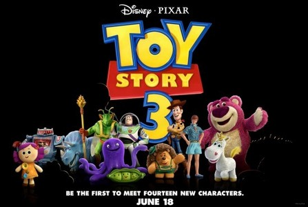 Which James Bond actor voiced a character in Toy Story 3?