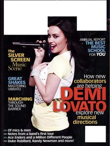 What magazine is Demi on in this cover?